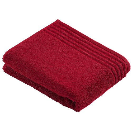 Vossen Vienna Super Soft Bathtowel, Ruby