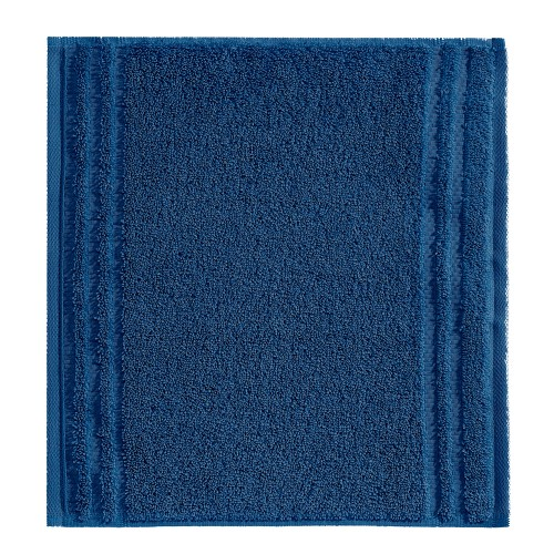 Vossen Vienna Super Soft Facecloth, Deep Blue