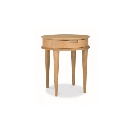 Casa Oslo Lamp Table With Drawer