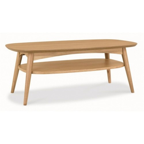 Casa Oslo Coffee Table With Shelf