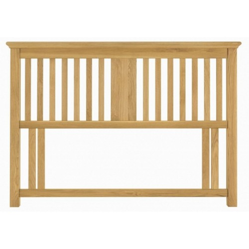 Casa Hampstead Headboard Kingsize, Oak