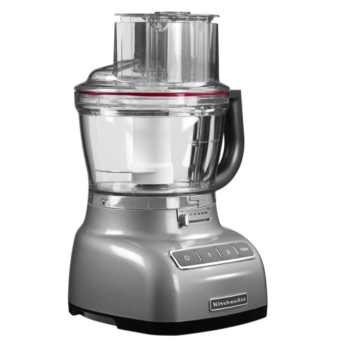 KitchenAid 3.1l Food Processor, Contour Silver