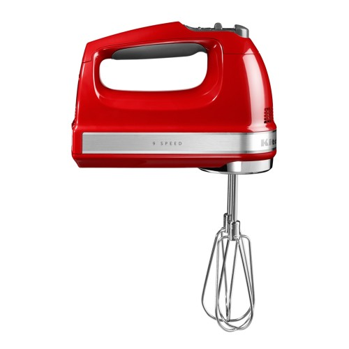 KitchenAid 9 Speed Hand Mixer, Empire Red