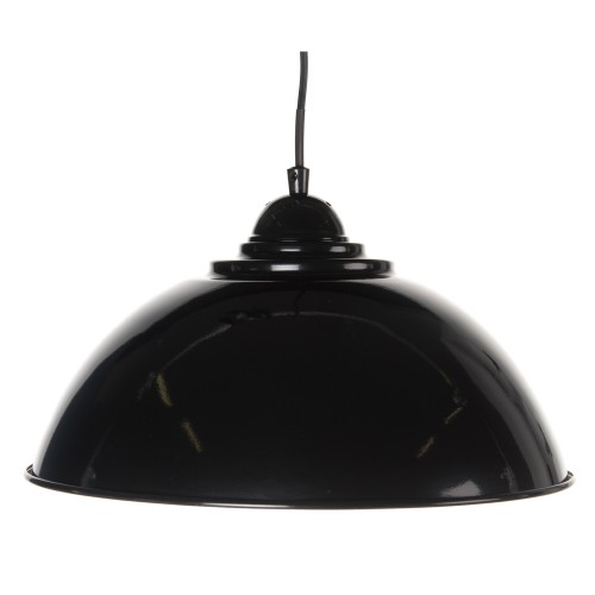 Casa Hendrick Electrified Pendant, Black