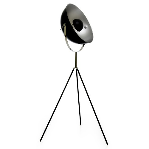 Casa Kubrick Floor Lamp, Black