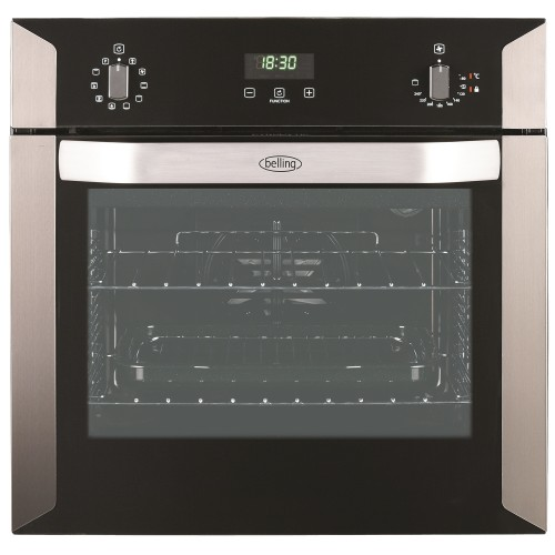 Belling Bi60e  Pyrolytic Oven 60cm, Stainless Steel
