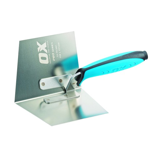 OX Pro 102X127mm Dry Wall Internal Corner Trowel