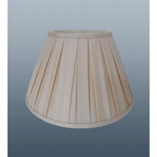 Enya Box Pleat Shade 8'', Cream