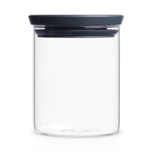 Brabantia Glass Jar 0.7l, Grey
