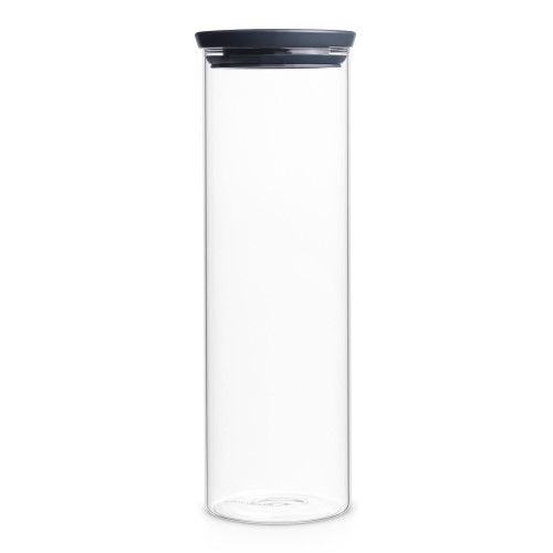 Brabantia Glass Jar 1.9l, Grey