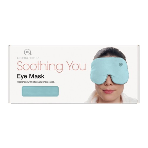 Aroma Home Soothing You Eye Mask, Sky Blue