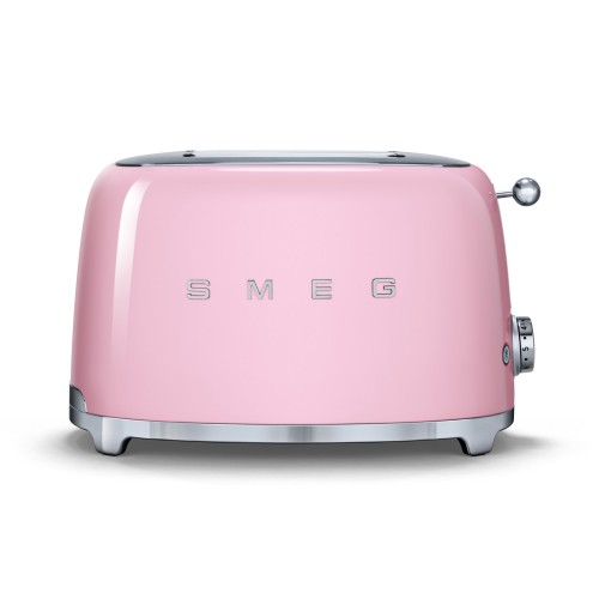 Smeg 2 Slice Toaster TSF02 Pink