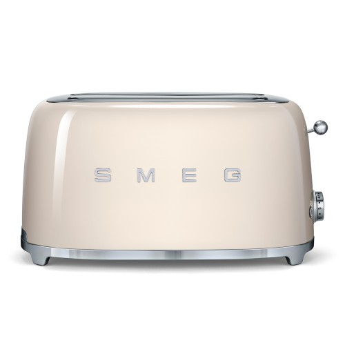 Smeg 4 Slice Toaster TSF02 Cream