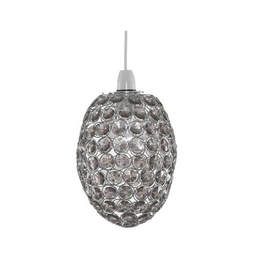 Casa Bailey Non Electric Pendant, Smoke
