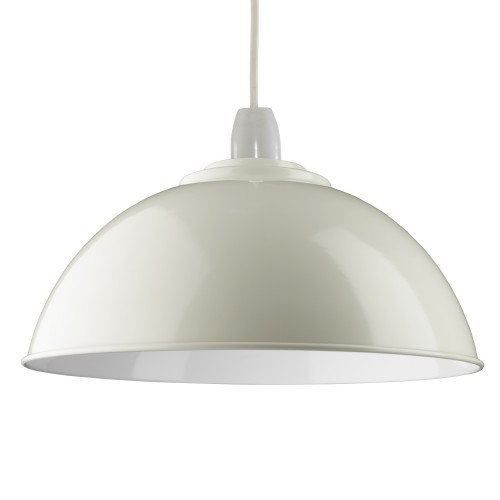 Casa Soho Non Electric Pendant, Pale Grey