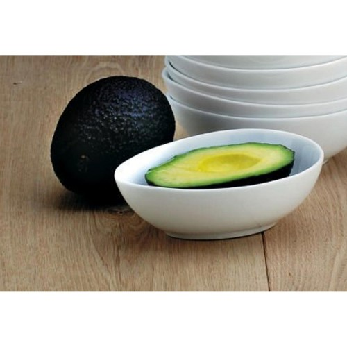 Wmbartleet Avocado Dish, White