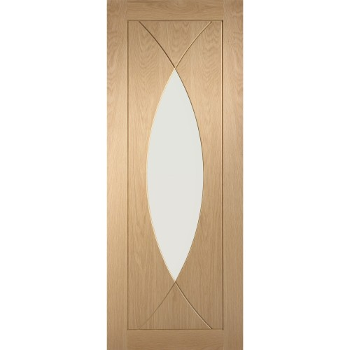 "Xl Joinery 30"" International  Pre Finished Pesaro With Clear Glass, Oak"