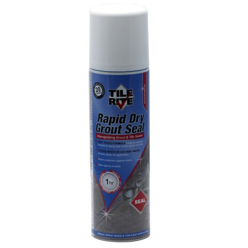600ml Rapid Dry Grout Seal, Clear