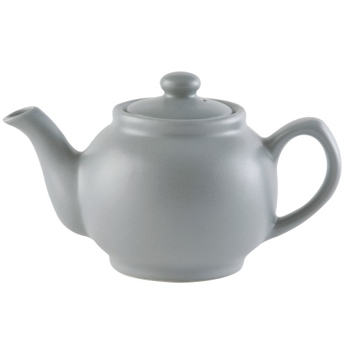 Price And Kensington Matt 2 Cup Teapot Onesize, Grey