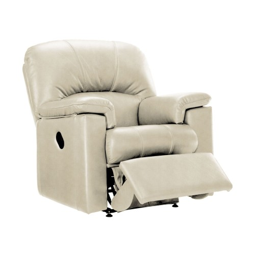 G Plan Chloe Manual Recliner Leather Armchair