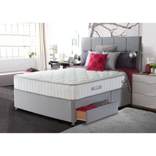 Sealy Chloe 2 Drawer Divan Set Double