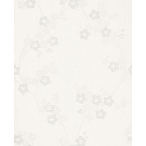 Graham And Brown Super Fresco Pearl Cherry Blossom, White