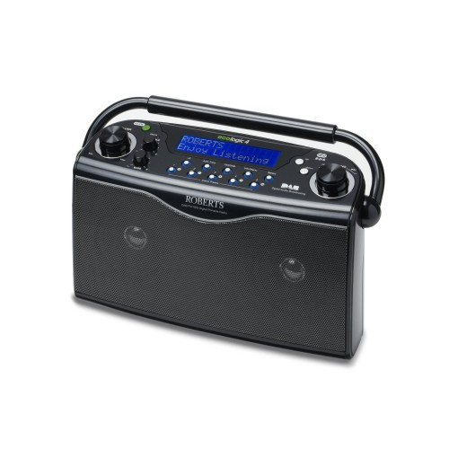 Roberts Eco-4 Dab Radio, Black