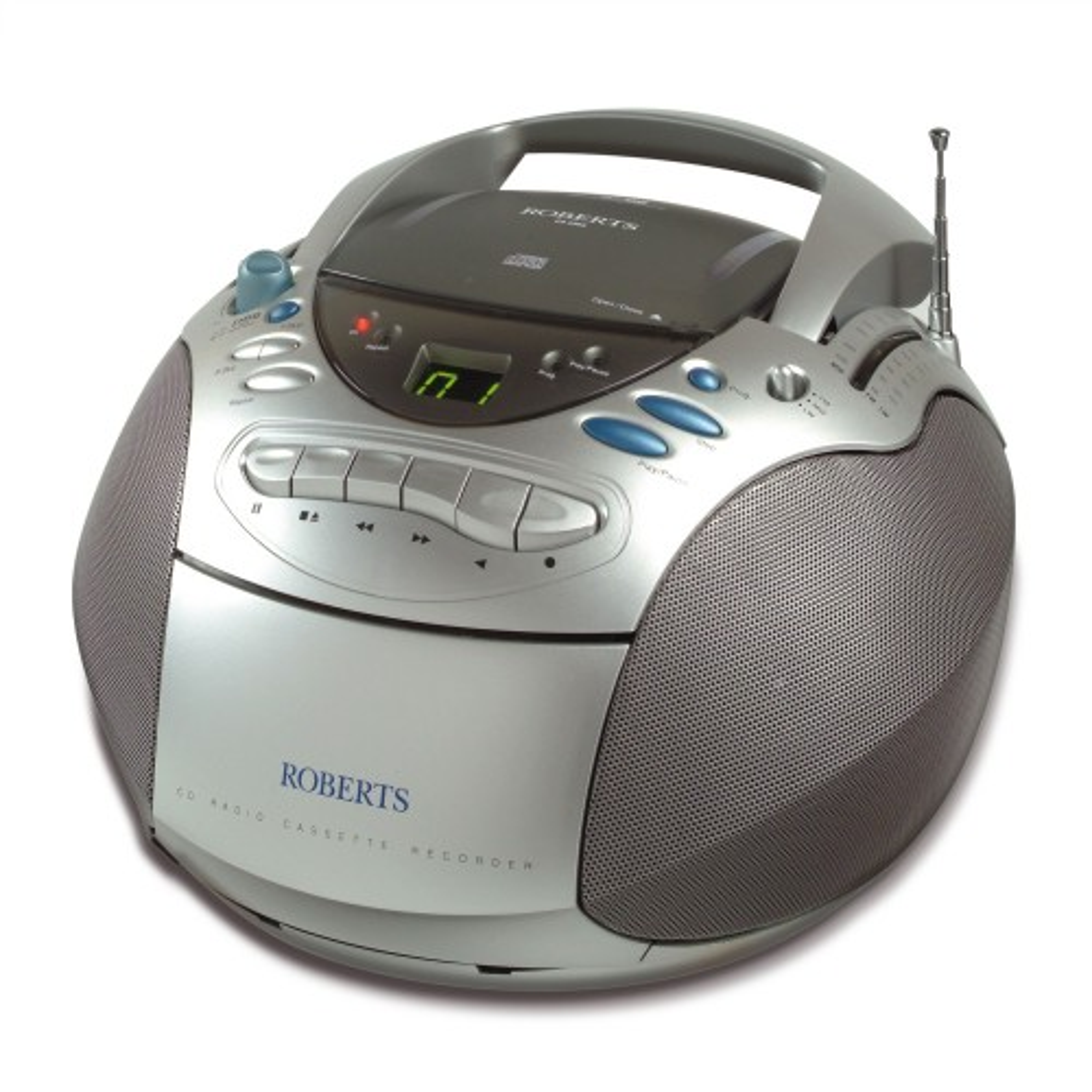 Roberts Cd9960 Cd Stereo, Silver