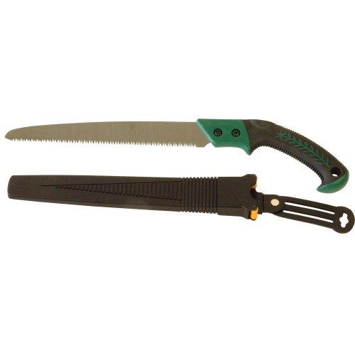 Wilkinson Sword Pruning Saw And Holster, Black/red