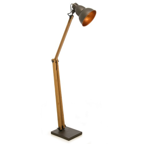 Casa Pixar Floor Lamp, Grey
