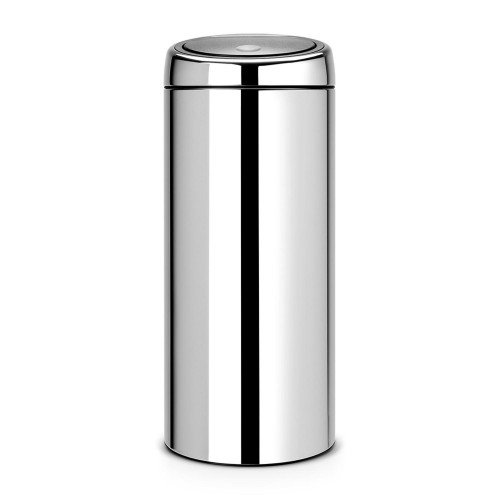Brabantia Touch Bin, 30 Litre - Brilliant Steel