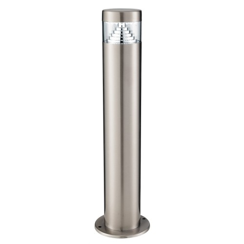 Led Oval Bollard, Stainless Steel
