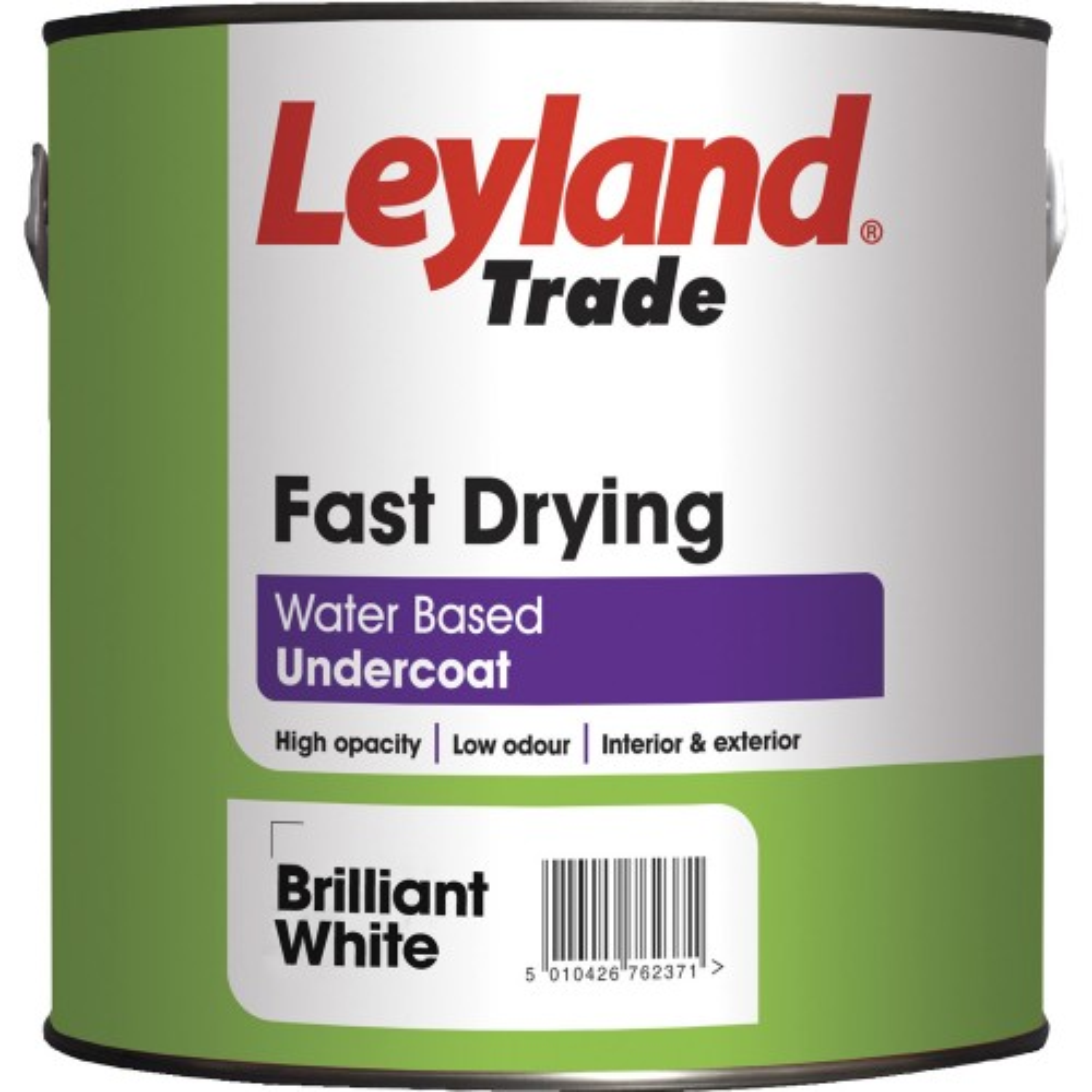 Leyland 75ml Fast Drying Undercoat White Paint
