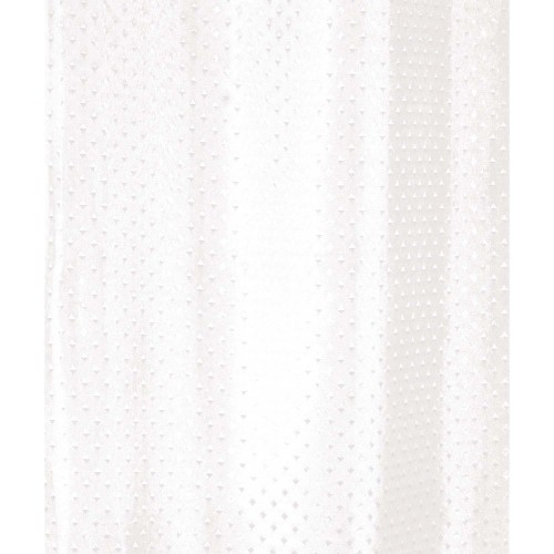 Euroshowers Diamond 180x180 Curtain, White