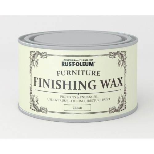 Rustoleum Furniture Finishing Wax 400ml, Clear