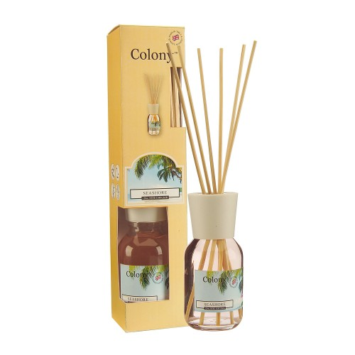 Colony Reed Diffuser 120ml Seashore, Yellow