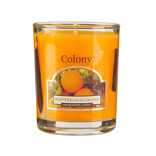 Colony Votive Candle Mediterranean Orange