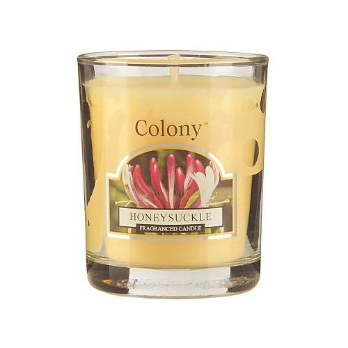 Colony Votive Candle Honeysuckle, Yellow