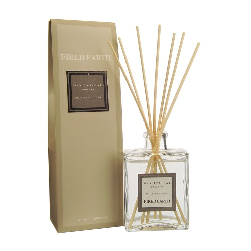 Reed Diffuser Earl Grey & Vetivert 200ml, Grey