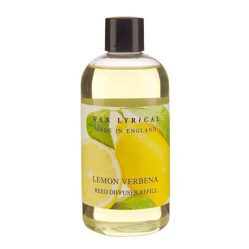Made In England Reed Diffuser Refill 250ml Lemon Verbena, Yellow