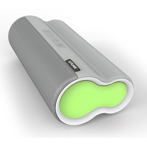 Otone Blufiniti Portable Bluetooth NFC Speaker, Green