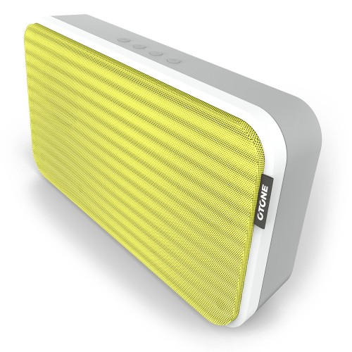 Otone Bluwall Portable Bluetooth NFC Speaker, Yellow