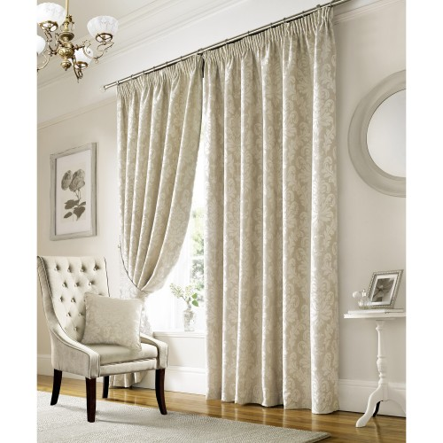 "Lille Ivory 66""x72"" Curtains"
