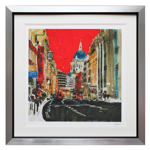 Complete Colour St Paul's Red Limited Edition, Multi