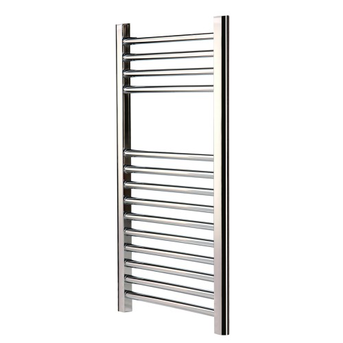 800x500mm Chatsworth Straight Towel Radiator, Chrome