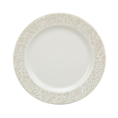 Denby Monsoon Lucille Gold Pastry Plate