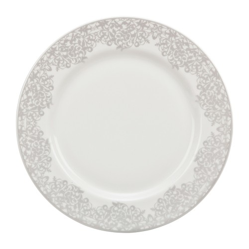 Monsoon Filigree Silver Salad Plate