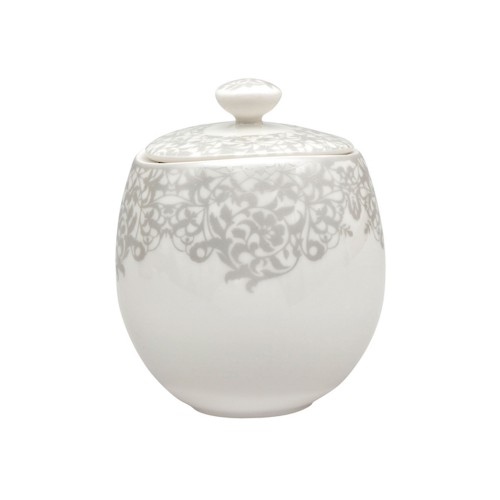 Monsoon Filigree Silver Sugar Bowl