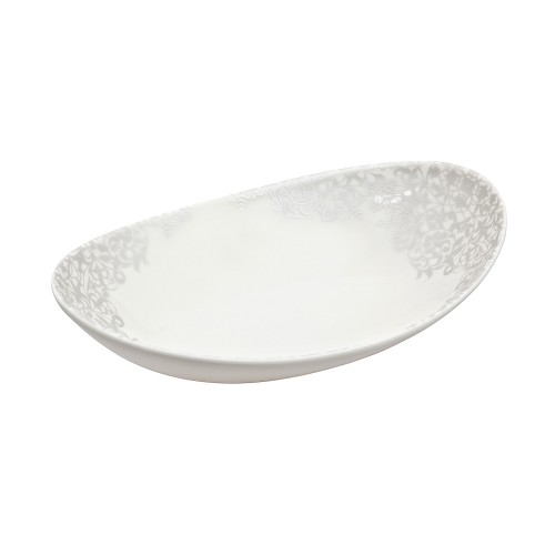 Monsoon Filigree Silver Small Oval Dish