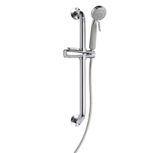 Croydex Assistive Showering Kit, Chrome